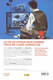 Verso de Spider-Man : L'Histoire d'une vie - Spider-Man : L'histoire d'une vie