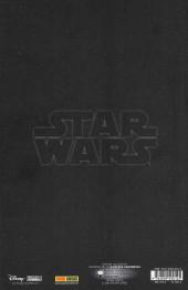 Verso de Star Wars (Panini Comics - 2020) -2TL- Intolérable