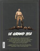 Verso de Le grand jeu -INT01- L'intégrale - Tomes 1 à 3