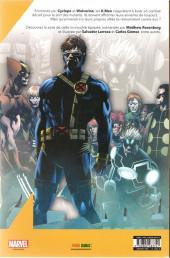 Verso de X-Men (Marvel France 7e série - 2020) -2- Définitif (2/3)