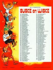 Verso de Suske en Wiske -191- De vergeten vallei - Toffe Tiko
