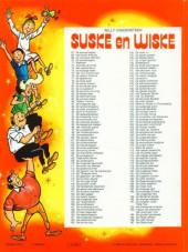 Verso de Suske en Wiske -197- Het Delta duel