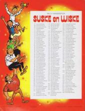 Verso de Suske en Wiske -173- Het drijvende dorp