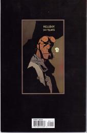 Verso de Hellboy (Dark Horse France) -HS- 20th anniversary sampler