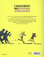 Verso de L'association des femmes africaines
