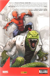 Verso de Spider-Man (Marvel France 8e série - 2020)  -2- Chassés (2/3)
