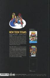 Verso de New Teen Titans (The) -2- Tome 2