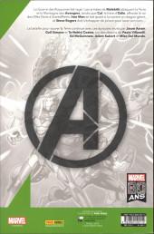 Verso de Avengers (Marvel France - 2020) -2TL01- Le starkronomicon