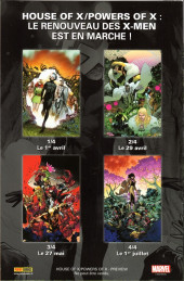 Verso de House of X - Powers of X -HS- Preview