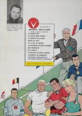 Verso de Michel Vaillant -9a1968- Le retour de Steve Warson
