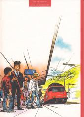 Verso de Les aventuriers du rail - Les Aventuriers du rail