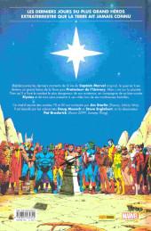 Verso de La mort de Captain Marvel - Tome a2020