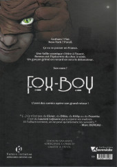 Verso de Fox-Boy (Komics Initiative) -1VC- Troisième Souffle
