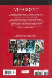 Verso de Marvel Comics : Le meilleur des Super-Héros - La collection (Hachette) -105- Vif-Argent