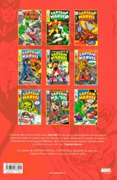 Verso de Captain Marvel (L'intégrale) -2- L'intégrale 1969-1970