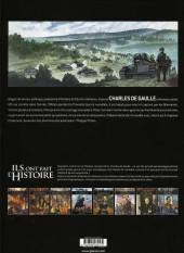 Verso de Ils ont fait l'Histoire -33- De Gaulle - Tome 1/3