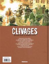 Verso de Clivages -INT- Clivages - Un Pays dans la guerre civile