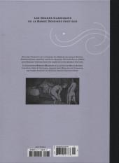 Verso de Les grands Classiques de la Bande Dessinée érotique - La Collection -98103- Mémoires de Casanova