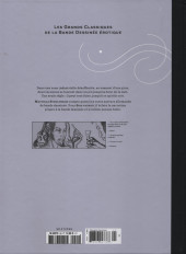 Verso de Les grands Classiques de la Bande Dessinée érotique - La Collection -9996- Sois vicieux