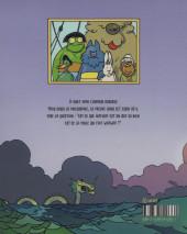 Verso de Wafwaf & Captain Miaou -INT- Les Aventures de Wafwaf et Captain Miaou