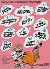 Verso de Gaston -13a1981- Lagaffe mérite des baffes