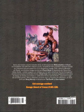 Verso de Savage Sword of Conan (The) - La Collection (Hachette) -60- Le monstre du passé