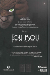 Verso de Fox-Boy (Komics Initiative) -1- Troisième souffle