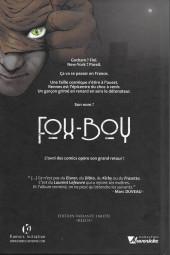 Verso de Fox-Boy (Komics Initiative) -1VC- Fox-Boy