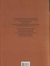 Verso de Théodore Poussin -Cah05- Cahiers Théodore Poussin 5