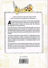 Verso de Astérix (Autres) -a2019- Les vérités historiques expliquées