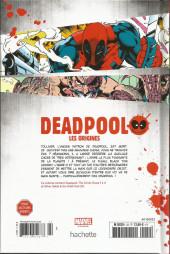 Verso de Deadpool - La collection qui tue (Hachette) -2202- Les origines