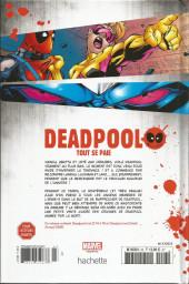 Verso de Deadpool - La collection qui tue (Hachette) -2308- Tout se paie