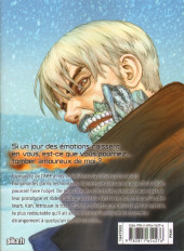 Verso de Origin -8- Volume 8