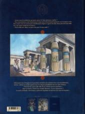 Verso de Les deux Cœurs de l'Égypte -2- Le petit dieu