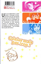 Verso de We Never Learn -10- Tome 10