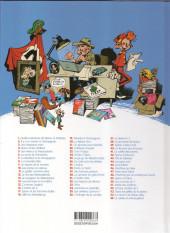 Verso de Spirou et Fantasio -34d2019- Aventure en Australie