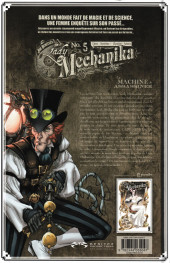 Verso de Lady Mechanika -5TL- La machine à assassiner