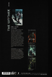 Verso de The witcher -2- De chair et de flamme