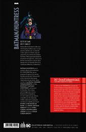 Verso de DC Confidential (Urban comics) -1- Batman/Huntress : Dette de sang