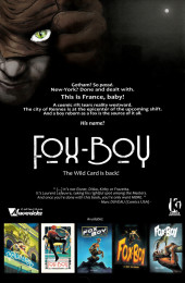 Verso de Fox-Boy (Komics Initiative) -HS- The birth of the Fox-Boy
