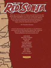 Verso de The art of Red Sonja (Dynamite - 2011) -1- Art of Red Sonja Volume 1