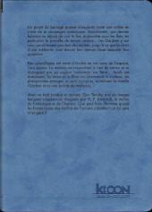 Verso de Les chefs-d'œuvre de Lovecraft -4- La couleur tombée du ciel