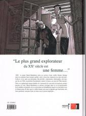 Verso de Une vie avec Alexandra David-Néel -1FL- Livre I