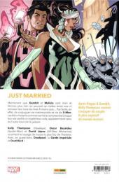 Verso de Mr & Mrs X -1- Les joies du mariage