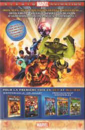 Verso de Marvel Icons (Marvel France - 2005) -52B- Asile de fous