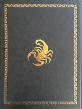 Verso de Le scorpion -12TT- Le mauvais augure