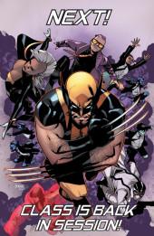 Verso de Wolverine and the X-Men Vol.1 (Marvel comics - 2011) -42- Graduation Day
