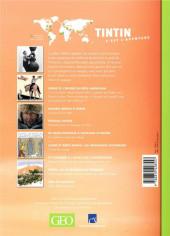 Verso de Tintin - Divers -Géo04- Tintin - C'est l'aventure - N° 4