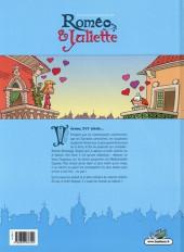 Verso de Les amours compliquées de Roméo & Juliette -INT- L'intégrale