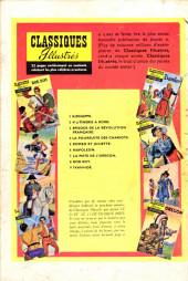 Verso de Classiques illustrés (1re Série) -9- Ivanhoé